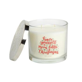 """Merry Little Christmas"" 12-oz. Scented Candle"