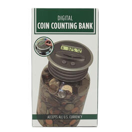 Digital Coin Counting Bank view 1