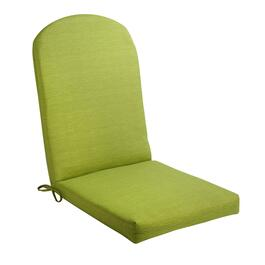 Solid Green Indoor/Outdoor Adirondack Chair Pad