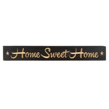 "24"" ""Home Sweet Home"" Wood Wall Sign"