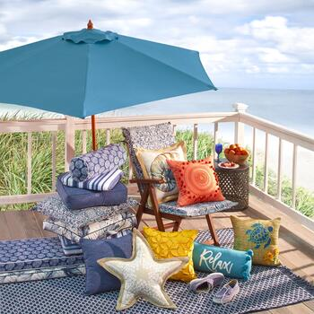 Coastal Living Seascapes™ Indoor/Outdoor Cushions