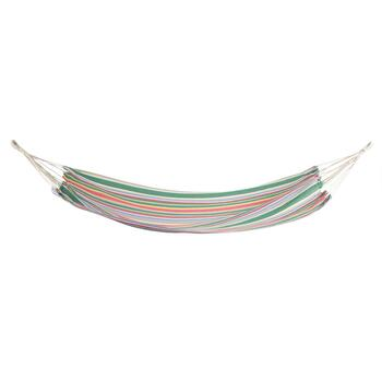 Green/Pink Stripes Hammock in a Bag