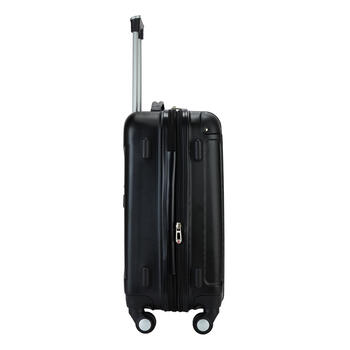 Black Hard Shell Luggage Set, 3-Piece view 3