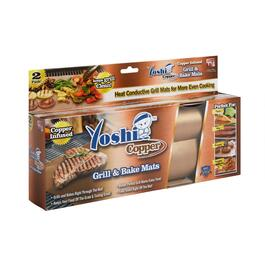 As Seen on TV Yoshi Copper Grill and Bake Mats, Set of 2