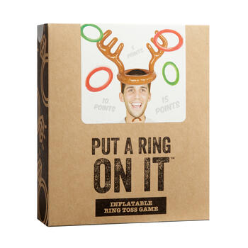 Put a Ring on It™ Inflatable Ring Toss Game view 1