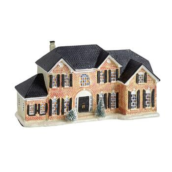 "12"" Brick LED Holiday House"