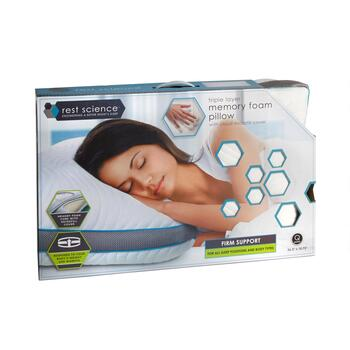Rest Science™ Triple Layer Memory Foam Pillow view 2