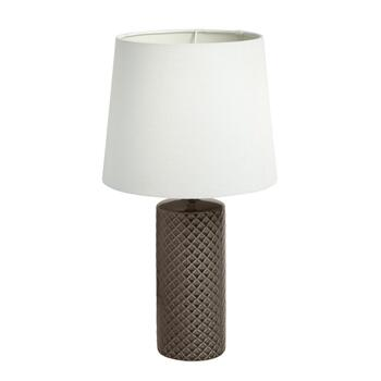 "14.5"" Ceramic Cylinder Table Lamp"
