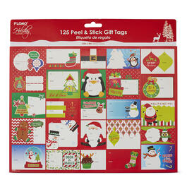 125 Peel & Stick Christmas Gift Tags view 1