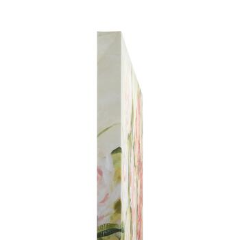 "30"" Pink Flowers Canvas Wall Art view 2"