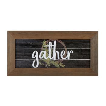 "The Grainhouse™ ""Gather"" Slatted Wall Decor"