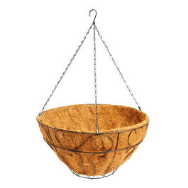 "COCO HANGING PLANTER 16"" view 1"