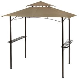 Double-Tent Barbecue Gazebo