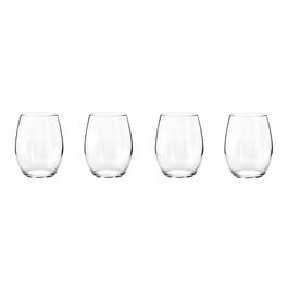 Stemless White Wine Glasses, Set of 4