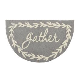 "18""x30"" ""Gather"" Hooked Slice Area Rug"