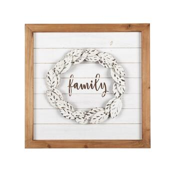 "The Grainhouse™ 20"" ""Family"" Framed Decor"