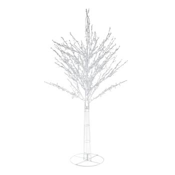 5' White LED Tree Yard Decor