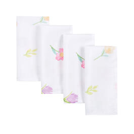 Spring Flowers Fabric Napkins, Set of 8 view 1