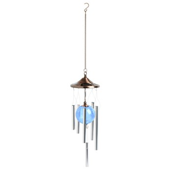 Color-Changing Solar Wind Chimes