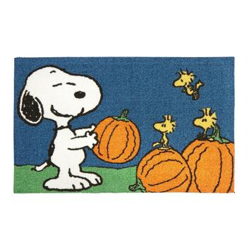 Peanuts™ Snoopy and Woodstock Halloween Accent Rug