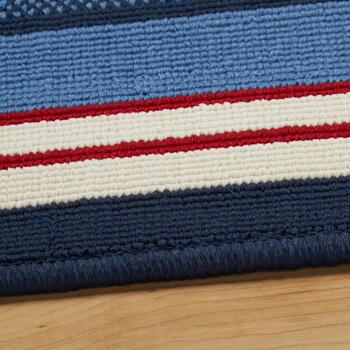 Red/White/Blue Border All-Weather Area Rug view 2