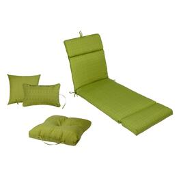 Solid Green Indoor/Outdoor Pads and Cushions
