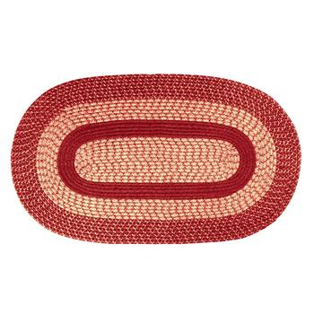 Oval Braided All-Weather Rug