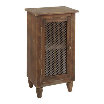 1-Door Wood/Metal Storage Cabinet view 1