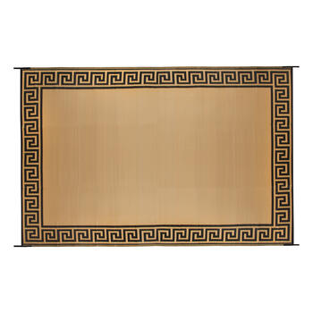 Patio Mat Greek Key 9x12 view 1