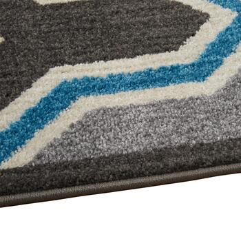 8'x10' Geneve Blue/Gray Area Rug view 2