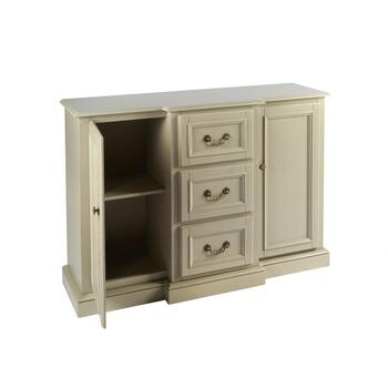 "50"" Light Gray 2-Door 3-Drawer Buffet Cabinet view 2"