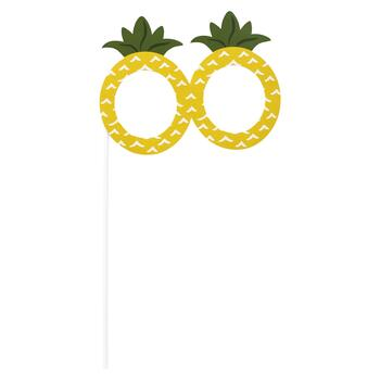 Tropical 10-Piece Photo Booth Props view 9
