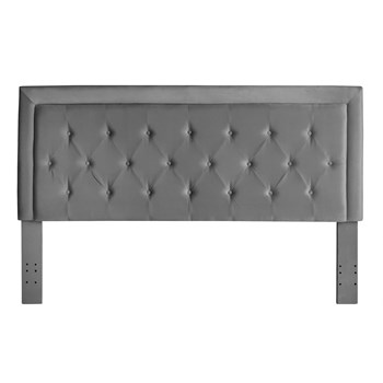 Kat Velvet Tufted King Headboard