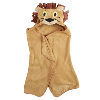 Children's Lion Hooded Towel