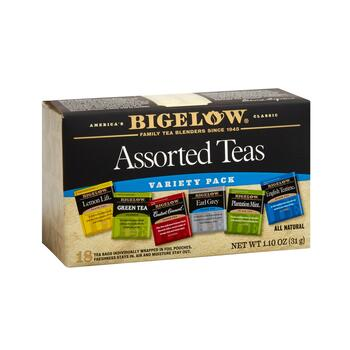 Bigelow® Assorted Teas Variety Pack, 6 Boxes