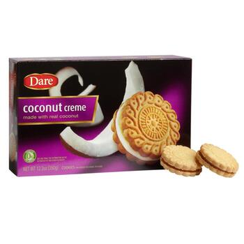 12.3-oz. Dare Coconut Creme Cookies, 12-Pack