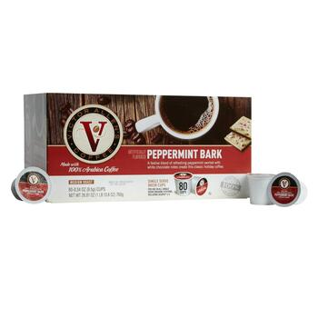 Victor Allen's® Peppermint Bark Coffee Pods, 80-Count view 1