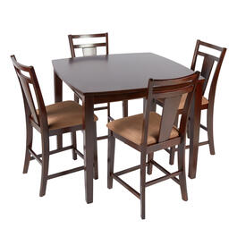 Brent Brown/Light Brown Dining Set, 5-Piece view 1
