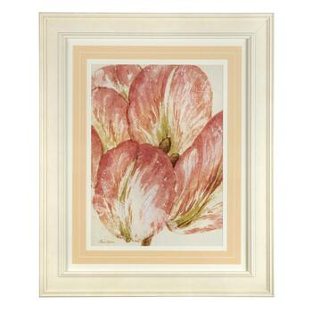"22""x28"" Pink Flower Framed Wall Art"