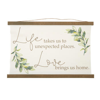 "The Grainhouse™ 24""x36"" ""Life Takes Us"" Hanging Canvas Tapestry view 1"