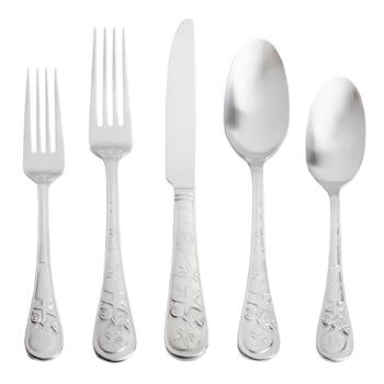Cambridge® Seaside Satin Flatware Set, 20-Piece