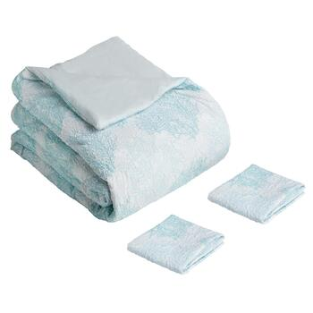 Coastal Blue Sea Breeze Comforter Set, 3-Piece view 2