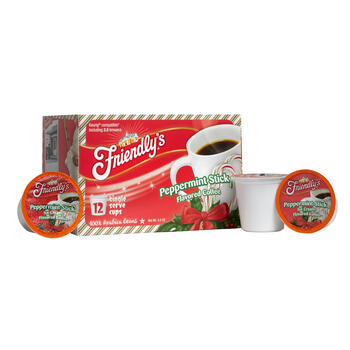 Friendly's® Peppermint Stick Flavored Coffee Pods, 6 Boxes view 1