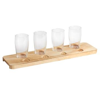 American Vintage Beer Flight Set, 5-Piece