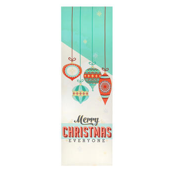 "12""x36"" ""Merry Christmas Everyone"" Canvas Wall Decor view 1"
