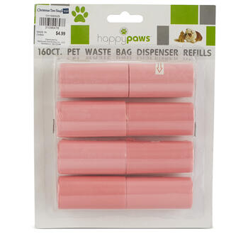 8-Pack Pet Waste bag Dispenser Refills view 1