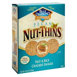 Blue Diamond® Pecan Nut-Thins® Crackers, 12 Boxes