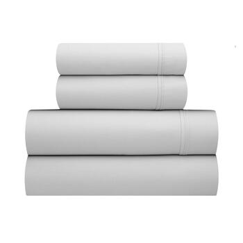 Solid 400-Thread Count Cotton Sheet Set view 1