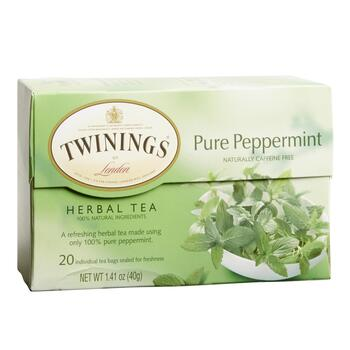 Twinings® Pure Peppermint Herbal Tea 6 Boxes
