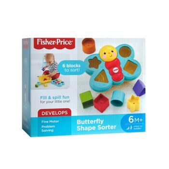 Fisher Price® Butterfly Shape Sorter